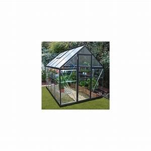 Serre De Jardin Polycarbonate : serre de jardin victorienne gris anthracite en ~ Dailycaller-alerts.com Idées de Décoration