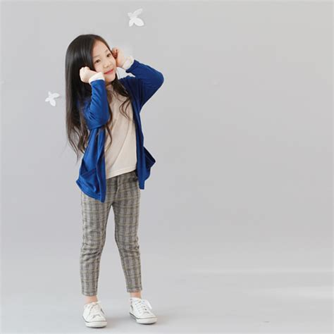 jany childrens checkered high water trousers