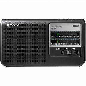 Poste Radio Sony : sony icf 38 portable am fm radio icf38 b h photo video ~ Maxctalentgroup.com Avis de Voitures