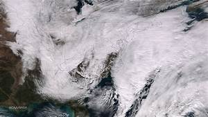 The Blockbuster Nor'easter as Seen From Space - ImaGeo