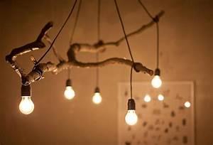 Rustikale Lampen Aus Holz : holz lampen selber machen deko mit zweigen im naturlook ~ Markanthonyermac.com Haus und Dekorationen