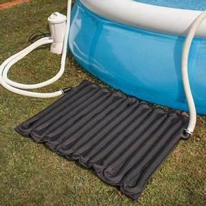 rechauffeur solaire pour piscine autoportante 8 10m3 With tapis solaire pour piscine