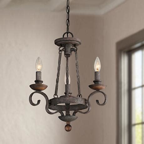 Small Black Chandelier by Quoizel Noble 15 Quot Wide Rustic Black Mini Chandelier