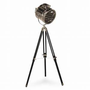 Studio tripod floor lamp light fixtures design ideas for Winston studio spotlight floor lamp on tripod