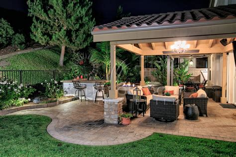 Outside Patio Designs by Outdoor Living Spaces Outdoor Patio Spaces Gallery Western