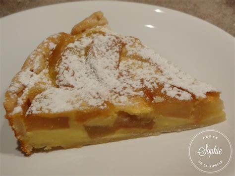 avocat cuisine recette tarte aux pommes à la crème anglaise la tendresse en cuisine