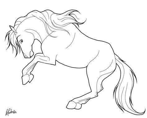 dibujos de caballos  colorear  kids page