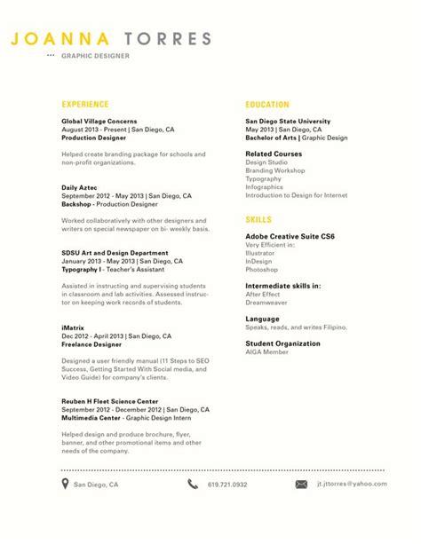 super clean simple  creative resume design resume
