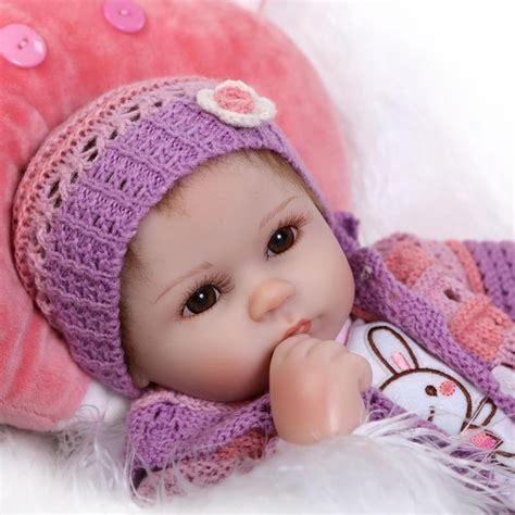 42 Cm Silicone Bebês Reborn Bonecas Para Meninas
