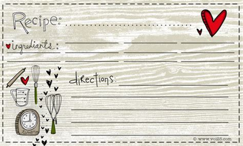 free recipe card templates 25 free printable recipe cards home cooking memories