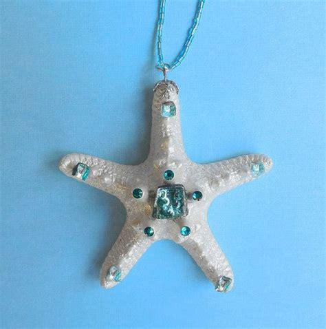White Starfish Beach Wedding Favor Knobby by