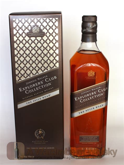 walker club johnnie collection explorers road spicy whisky main awardrobeofwhisky bottle