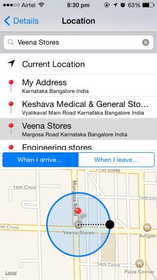 how to set location on iphone how to set location based reminders on an iphone