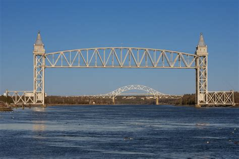 Cape Cod Canal And Bridges Shadowedhills