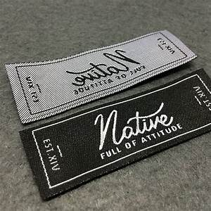 woven labels woven label basic name labels custom woven With clothing labels canada