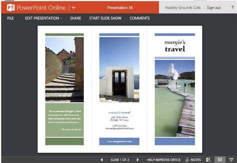 travel brochure maker templates  powerpoint