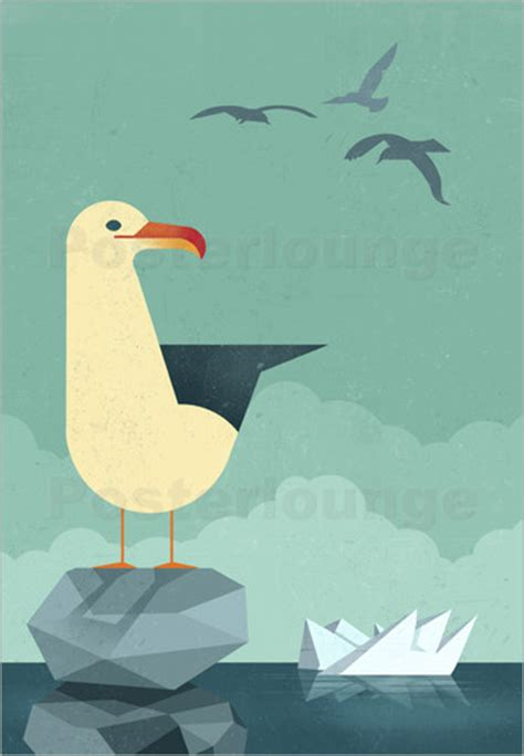 dieter braun seagull poster posterlounge