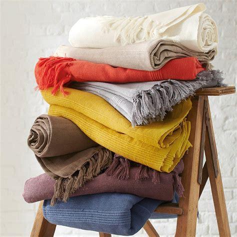 manta artesanal pequenos pre 231 os la redoute undercover artisan plaid blanket