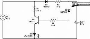 Zener Diode At Base Of Transistor
