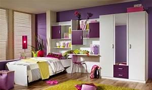Chambre De Fille De 8 Ans : couleur des murs dune chambre dados fille de 14 ans ~ Teatrodelosmanantiales.com Idées de Décoration
