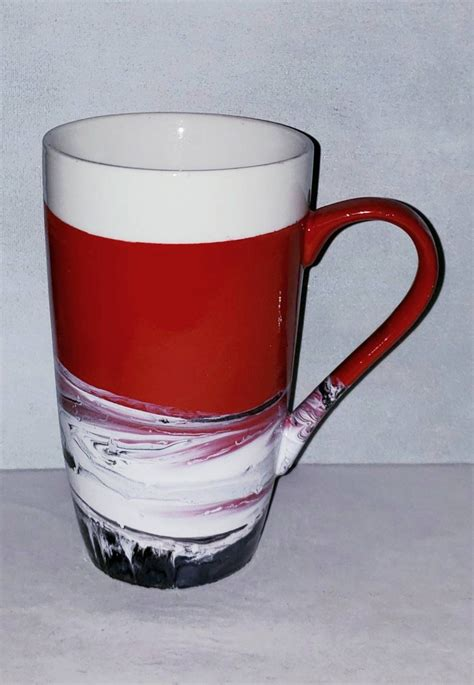 Keep reading, and you might find yourself an excellent coffee bearer from the. Tall Red Coffee Mug 20 oz in 2020   Mugs, Coffee mugs, Ceramics