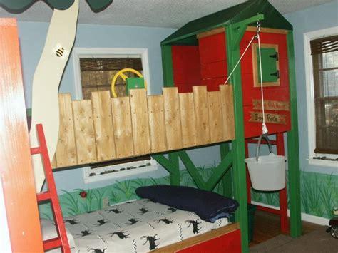boys tree house bed bedroom ideas pinterest house