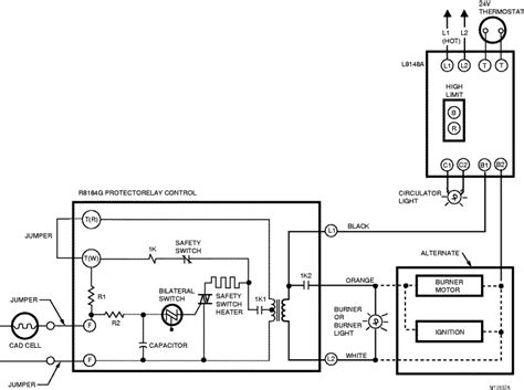 wiring schematic for honeywell thermostat th3210d1004