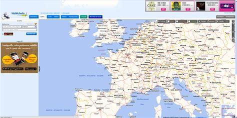 viamichelin carte europe