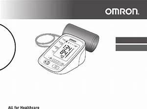 Omron Bp769can Blood Pressure Monitor Instruction Manual