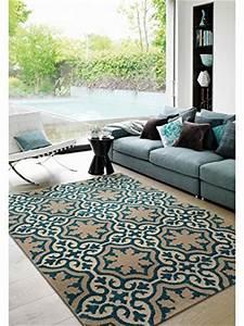 Teppich Kinderzimmer Schadstofffrei : benuta teppiche teppich mylin blau 200x290 cm schadstofffrei 100 polypropylen ornament ~ Orissabook.com Haus und Dekorationen