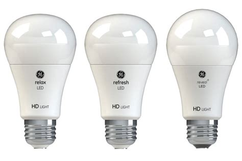 Ge Relax, Refresh, And Reveal Led Light Bulb Reviews Two