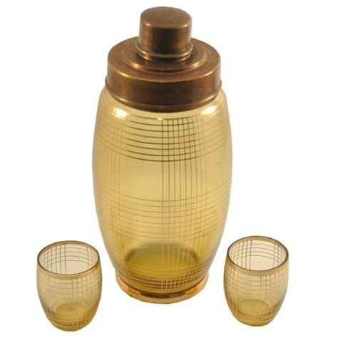Barware Stores by Glass Shaker Set Vintage Barware The
