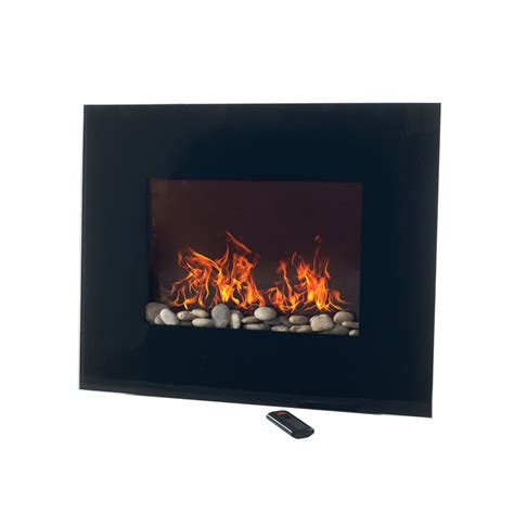 northwest wall mounted electric fireplace remote