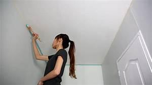 Bien Peindre Un Plafond : comment peindre un plafond de couloir en couleur peintures bien bien peindre un plafond ~ Melissatoandfro.com Idées de Décoration