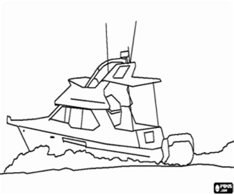 How To Draw A Boat Race by Boats Coloring Pages Printable 2