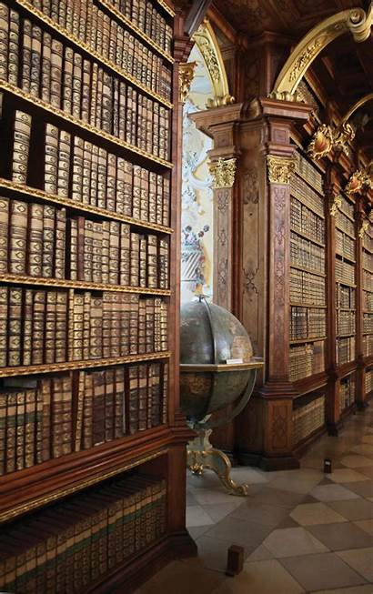 Melk Library Libraries Abbey Coolest Abbaye Slate