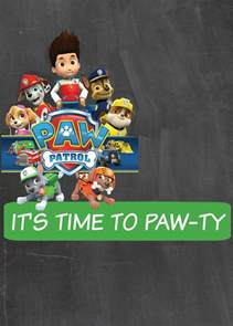 custom invitation how to make a paw patrol digital invitation includes