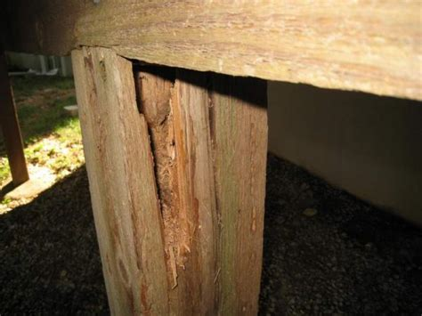 deck post  beam rot doityourselfcom community forums