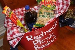 Redneck Picnic Basket Recipes We Love Very fun idea