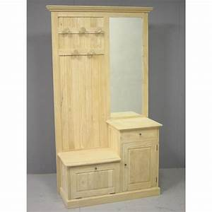 meuble d39entree vestiaire tradition 2p 1t 190 cm pier import With delightful vestiaire meuble d entree 4 meuble dentree vestiaire meuble amadeus