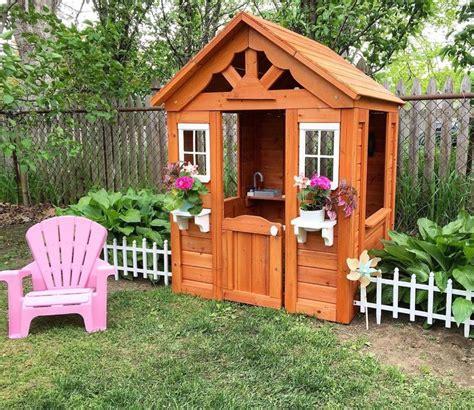 Backyard Discovery Playhouse by Backyard Discovery Timberlake All Cedar Wood