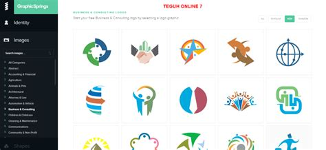 create your own logo free logo design maker generator teguh online 7