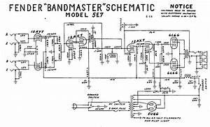 Fender Guitar Amp Wiring Diagrams : fender bandmaster tube amp schematic model 5e7 diy ~ A.2002-acura-tl-radio.info Haus und Dekorationen