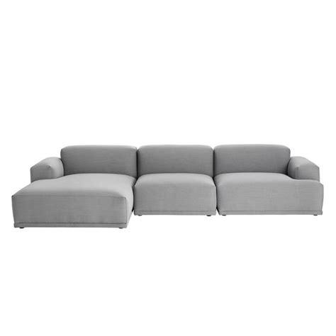 connect canapé lounge angle méridienne muuto