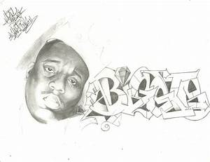 Biggie Smalls Sketch by TheGraeOneOne on DeviantArt