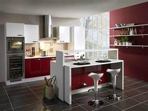 Idee decoration cuisine collection avec beau deco cuisine for Idee deco cuisine avec modelle de cuisine