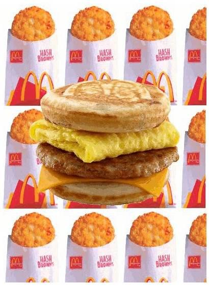 Breakfast Mcdonalds Mcdonald Gifs Junk Fast Mc