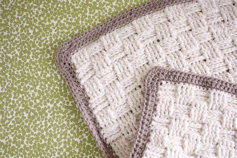 crochet baby blanket nesting basket weave crochet baby blanket