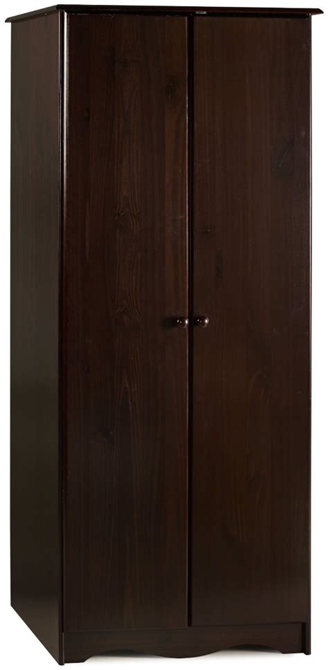 Solid Wood Wardrobe Closet by 100 Solid Wood Bronx Wardrobe Armoire Closet 4 Colors Ebay