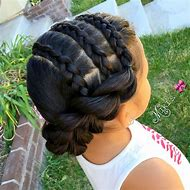 Easy Braided Hairstyles for Little Girls